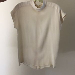 Vintage Chanel silk blouse size 38 perfect cond